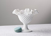 Vases - Ruffles and Ribs Hobnail Compote