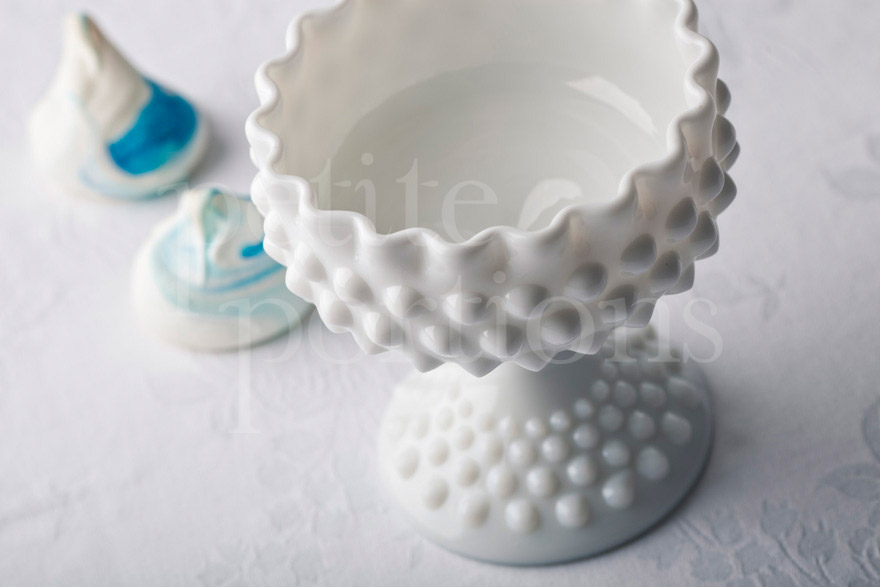 Compotes & Bowls - Hobnail Tall Stemmed Candy Dish
