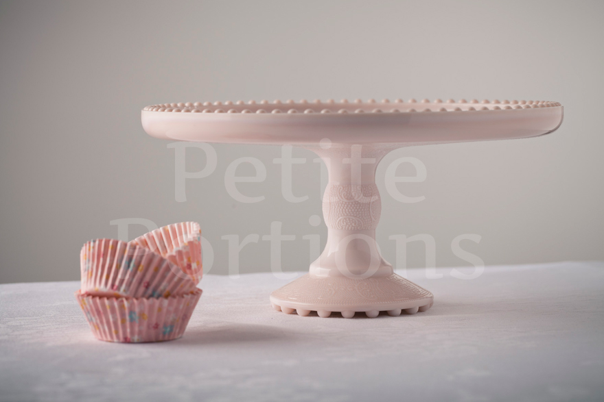 Cake Stands & Plates - Harp Cake Stand - Pink