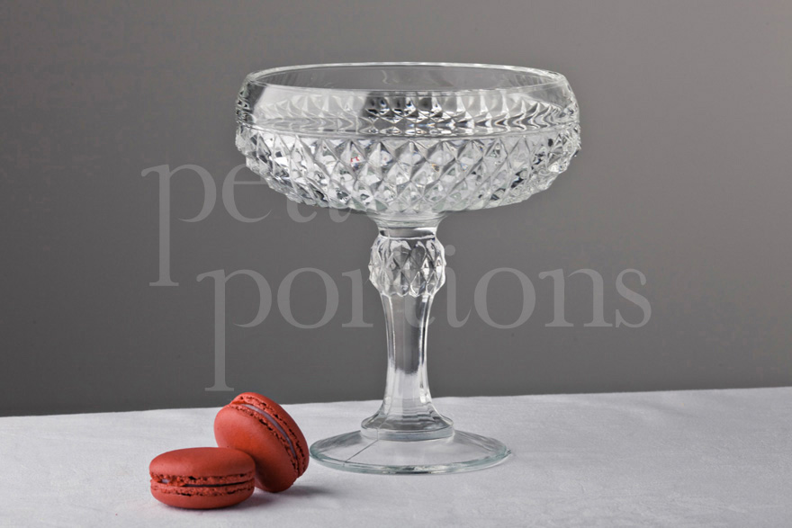 Compotes & Bowls - Diamond Point Open Compote