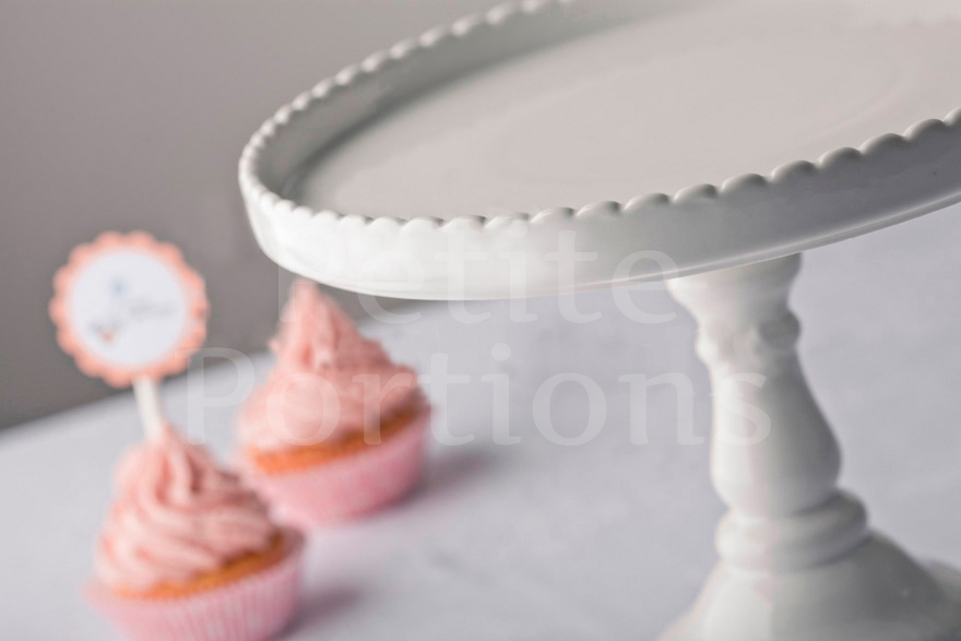 Cake Stands & Plates - Rosanna Bon Bon Round Cake Stand Large - White