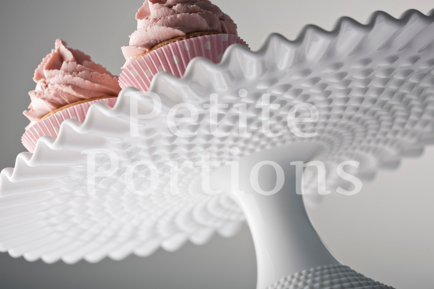 Cake Stands & Plates - Ruffled Hobnail Cake Stand
