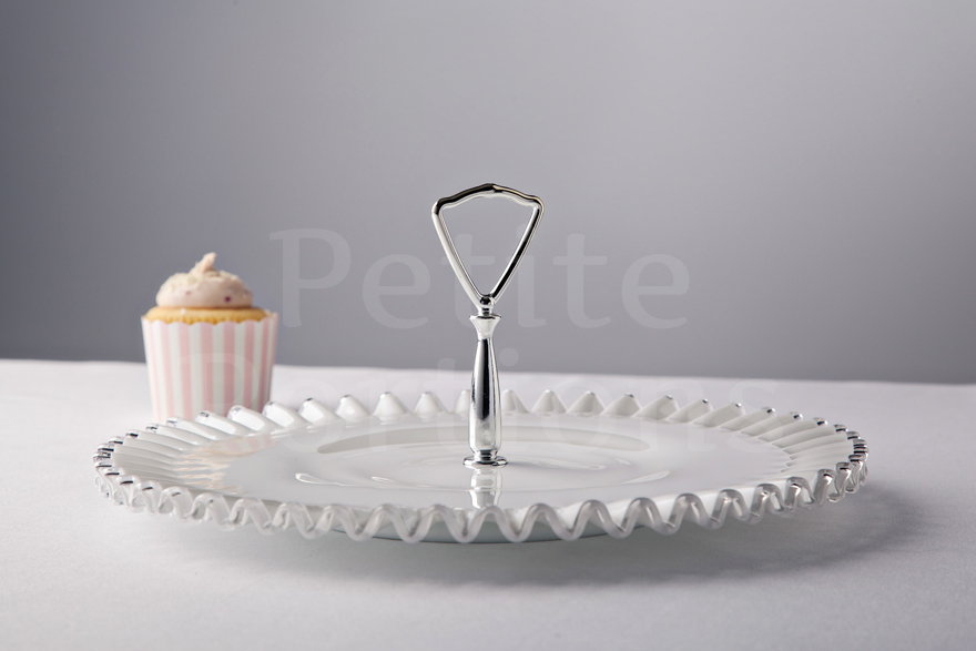 Cake Stands & Plates - Silvercrest Single Tier Tidbit Stand