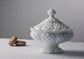Compotes & Bowls - Hobnail Low-Footed Candy Dish